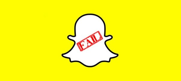 advertiise - fail snapchat